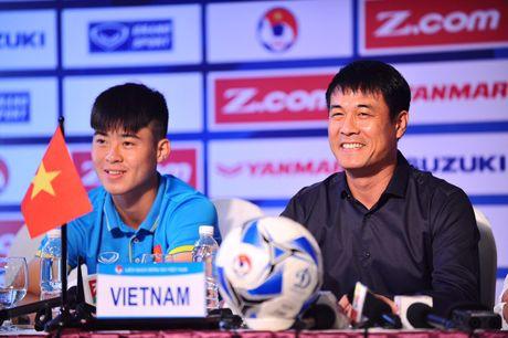 HLV Huu Thang: 'Chung toi ton trong moi doi thu tai Vong loai U.23 chau A' - Anh 3