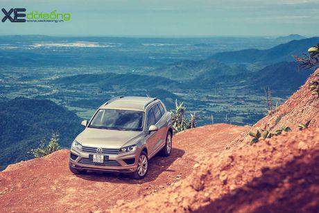 Danh gia SUV sang VW Touareg: kho co the che dang cap xe Duc! - Anh 20