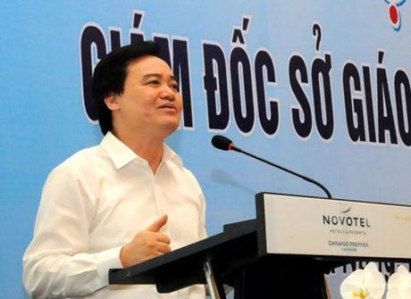 """Nganh Giao duc - Dao tao: 5 giai phap go dan cac van de """"nong"""" - Anh 1"""