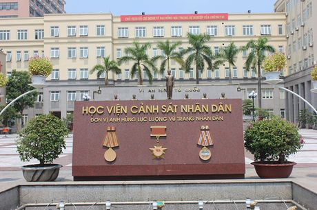 Hoc vien Canh sat Nhan dan cong bo muc diem xet tuyen - Anh 1