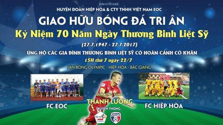 Thanh Luong se ve Bac Giang thi dau tu thien nhan ngay 27/7 - Anh 1