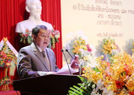 Da Nang: Ky niem 55 nam ngay thiet lap ngoai giao giua Viet Nam - Lao - Anh 2