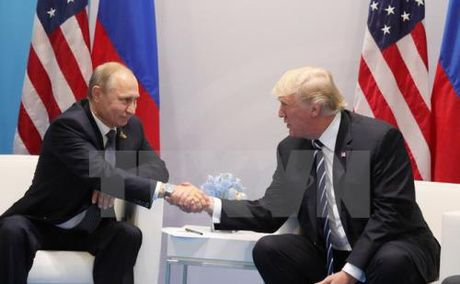 Ban ve quan he My-Nga sau cuoc gap truc tiep giua hai Tong thong Trump- Putin - Anh 1
