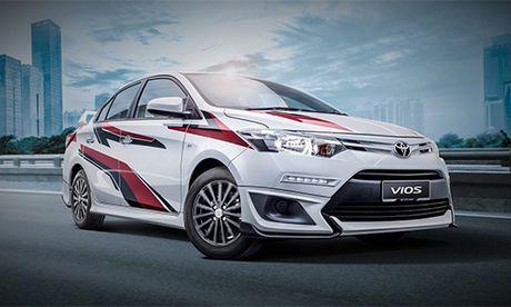 Toyota Vios Sports Edition - ban the thao moi gia 19.900 USD - Anh 1