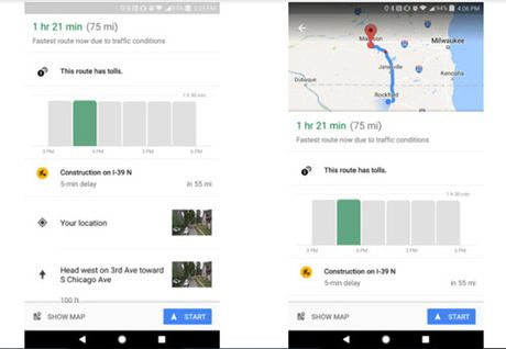 Google Maps them tinh nang canh bao gio ket xe - Anh 1