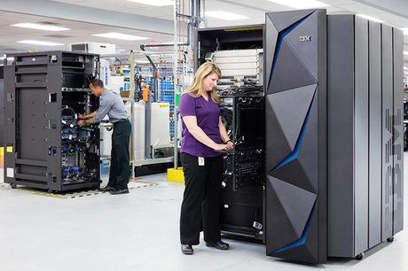 IBM trinh lang may tinh Z Mainframe toi uu ma hoa du lieu - Anh 1