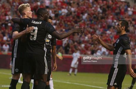 Lukaku 'no sung', Man Utd nguoc dong thang Real Salt Lake - Anh 5