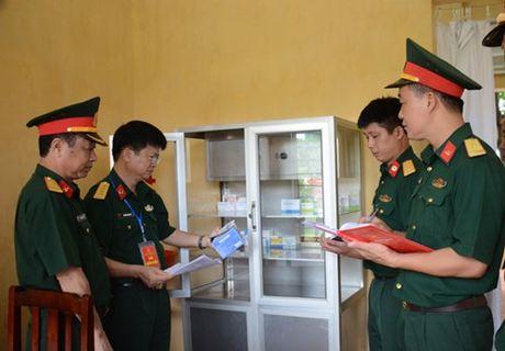 Tong cuc Hau can to chuc hoi thi 'Don vi quan y 5 tot' - Anh 2