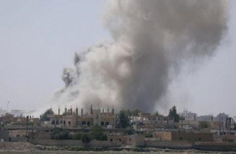 Quan doi Syria chiem duoc them cac gieng dau tai Raqqa - Anh 1