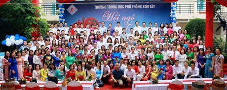 Net van hoa dep cua hoc sinh Truong THPT Son Tay - Anh 1