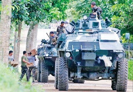Philippines tinh mo rong thiet quan luat tren dao Mindanao - Anh 1