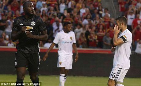 Ket qua tran Real Salt Lake - M.U: Lukaku ghi ban nhu Ronaldo - Anh 1