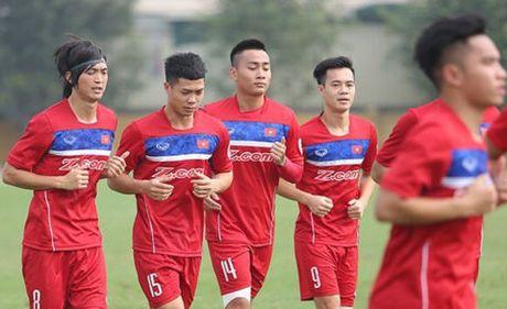 HLV Huu Thang gay bat ngo truoc vong loai U23 chau A 2018 - Anh 1