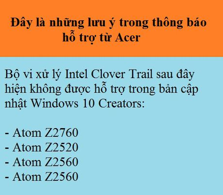 Mot so may tinh su dung chip Intel khong chay duoc Windows 10 - Anh 2