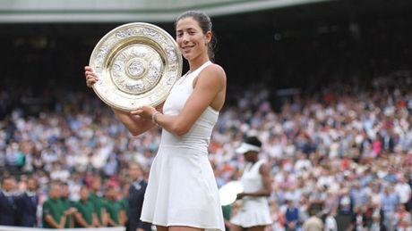 Bang xep hang WTA sau Wimbledon 2017: Muguruza tang 10 bac - Anh 1