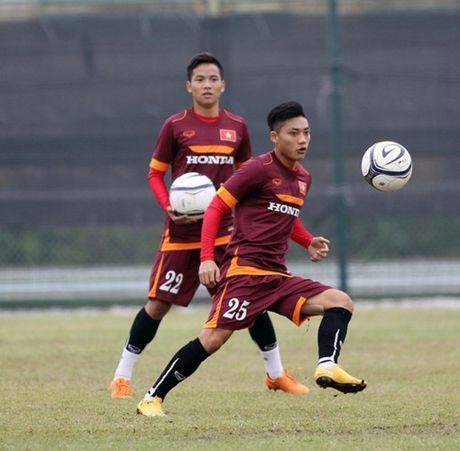 HLV Huu Thang chot danh sach 23 cau thu du vong loai U23 chau A 2018 - Anh 17