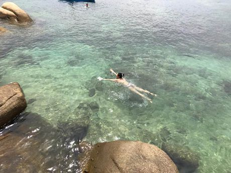 Hoa hau Ha Kieu Anh 41 tuoi van qua boc lua voi bikini - Anh 8