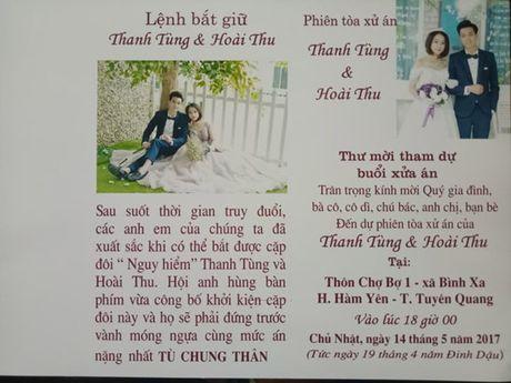 Dan mang thich thu thiep cuoi do chinh chu re tu thiet ke so do duong di tranh cong an - Anh 4