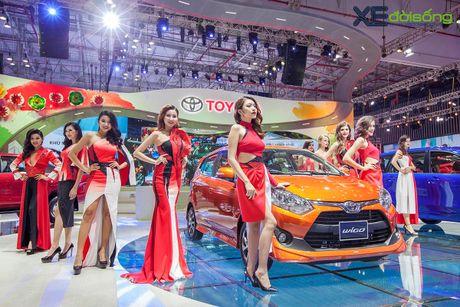 Toyota phat co 'khoi nghia' tai Vietnam Motor Show 2017 - Anh 10