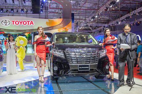 Toyota phat co 'khoi nghia' tai Vietnam Motor Show 2017 - Anh 11