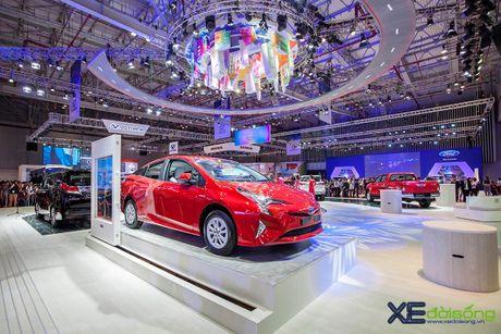Toyota phat co 'khoi nghia' tai Vietnam Motor Show 2017 - Anh 13
