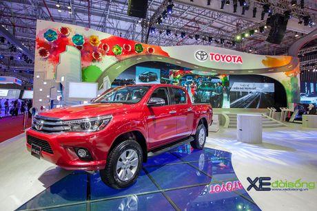 Toyota phat co 'khoi nghia' tai Vietnam Motor Show 2017 - Anh 14
