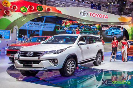 Toyota phat co 'khoi nghia' tai Vietnam Motor Show 2017 - Anh 16