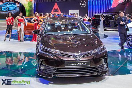 Toyota phat co 'khoi nghia' tai Vietnam Motor Show 2017 - Anh 17