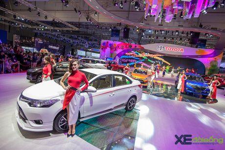 Toyota phat co 'khoi nghia' tai Vietnam Motor Show 2017 - Anh 18