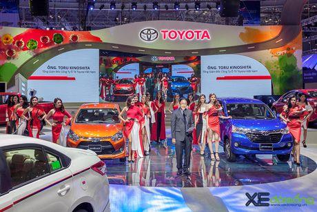 Toyota phat co 'khoi nghia' tai Vietnam Motor Show 2017 - Anh 2