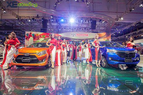Toyota phat co 'khoi nghia' tai Vietnam Motor Show 2017 - Anh 3
