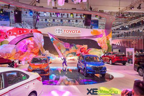 Toyota phat co 'khoi nghia' tai Vietnam Motor Show 2017 - Anh 4