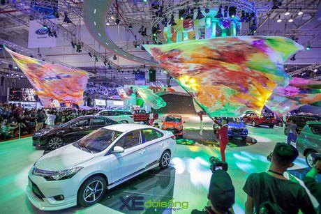 Toyota phat co 'khoi nghia' tai Vietnam Motor Show 2017 - Anh 5