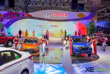 Toyota phat co 'khoi nghia' tai Vietnam Motor Show 2017 - Anh 6