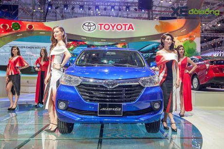 Toyota phat co 'khoi nghia' tai Vietnam Motor Show 2017 - Anh 8