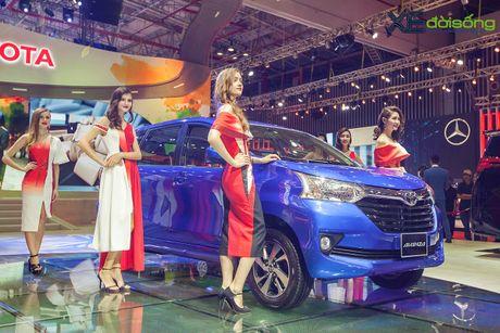 Toyota phat co 'khoi nghia' tai Vietnam Motor Show 2017 - Anh 9