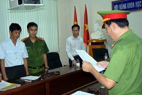 Tra Vinh: Bat tam giam Chanh Thanh tra So Khoa hoc va Cong nghe - Anh 1