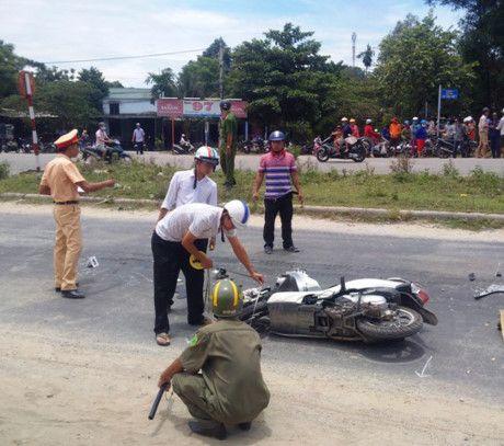 Hue: Co gai bi xe ben can chet khi dang luu thong tren duong Vo Van Kiet - Anh 2