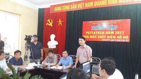 Thuy dien Ho Ho dien tap PCTT&TKCN nam 2017 - Anh 1