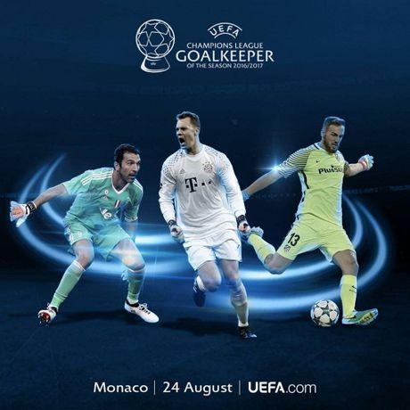 UEFA cong bo de cu danh hieu xuat sac tai giai chau Au - Anh 1
