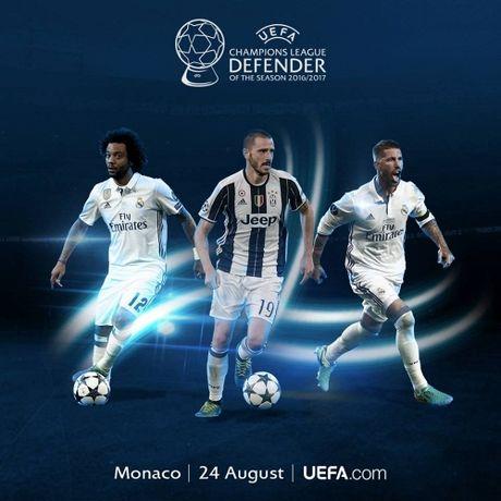 UEFA cong bo de cu danh hieu xuat sac tai giai chau Au - Anh 2