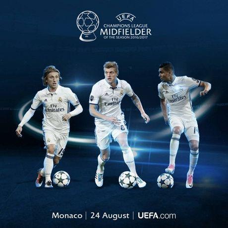 UEFA cong bo de cu danh hieu xuat sac tai giai chau Au - Anh 3