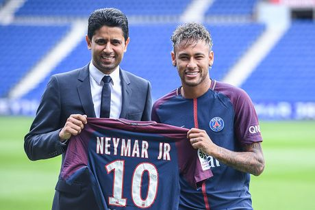 Neymar rang ro trong buoi tap dau tien cung PSG - Anh 7