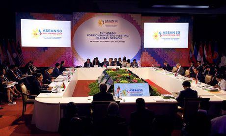 ASEAN thong qua du thao khung Bo quy tac ung xu o Bien Dong - Anh 1