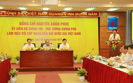 Thu tuong lam viec voi Tap doan Dau khi Quoc gia Viet Nam - Anh 2