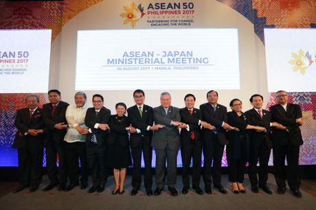 ASEAN va 10 nuoc doi tac thong qua nhieu dinh huong hop tac lon - Anh 1
