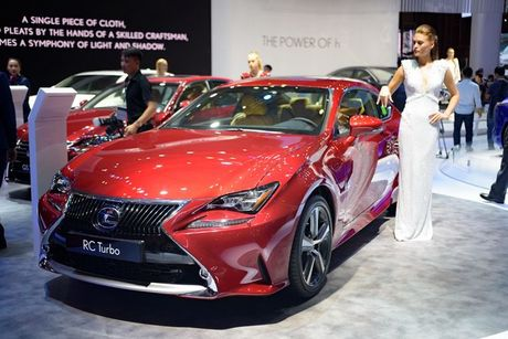 Lexus RC Turbo gia 2,98 ty dong tai VMS 2017 - Anh 1