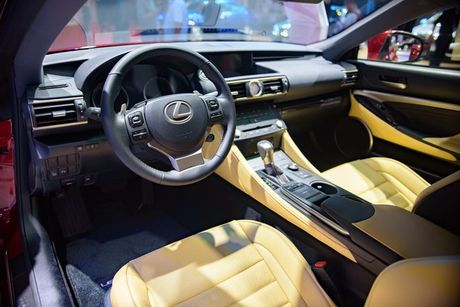 Lexus RC Turbo gia 2,98 ty dong tai VMS 2017 - Anh 4