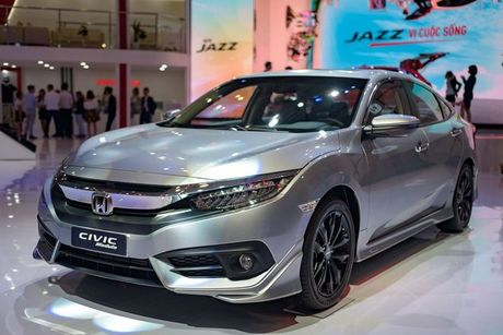 Honda Civic Modulo them manh me voi bodykit the thao - Anh 1