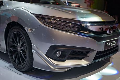Honda Civic Modulo them manh me voi bodykit the thao - Anh 7